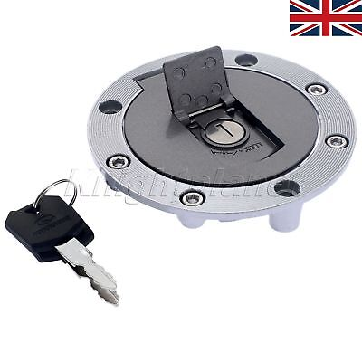 UK STOCK MOTORCYCLE ALUMINUM  FUEL TANK GAS CAP FOR <em>YAMAHA</em> FZR600 FZR7
