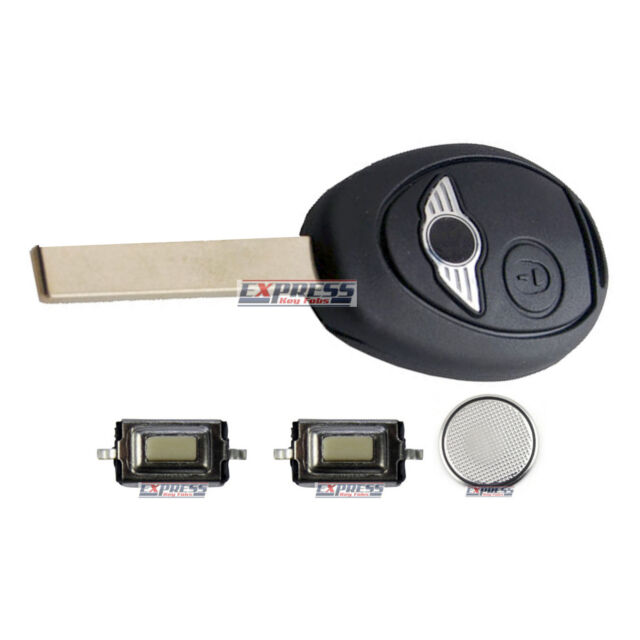 BMW Mini One S Cooper R50 2 Button Remote Key Fob Repair