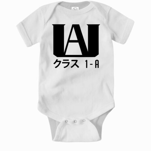 My Hero Academia Romper. Anime Cute Baby Clothes One Piece Jump Suit Bodysuit