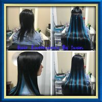 Are you looking for beautiful long hair extensions contact me