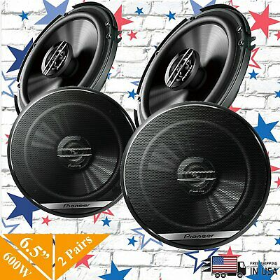 "PIONEER TS-G6930F 6x9/"" 3-WAY SPEAKERS PLUS TS-G1620F 6.5/"" 2-WAY COAXIAL SPEAKERS"