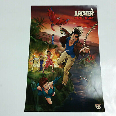 Archer: Danger Island SDCC 2018 Exclusive Promo Poster