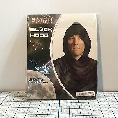 NIP Black Hood by SPIRIT HALLOWEEN: Adult One Size - Costumes - Cosplay