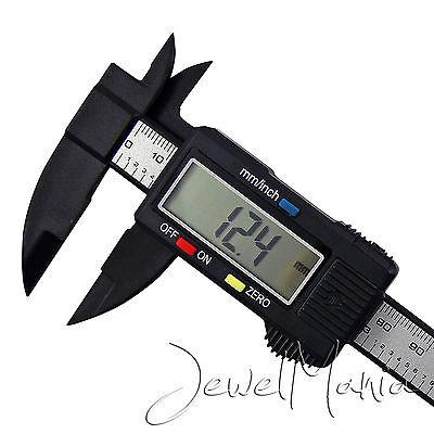 "6"" 150mm Digital Vernier Caliper Electronic Micrometer LCD Measuring Gauge Tool"