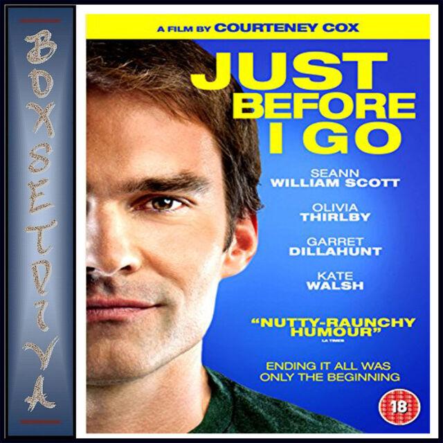 JUST BEFORE I GO - Seann William Scott **BRAND NEW DVD**