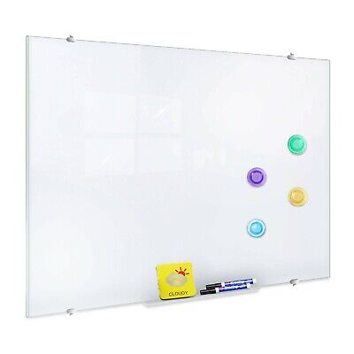 Zhidian Glass Dry Erase Board Magnetic Ultra White Board For Wall 4 X 5