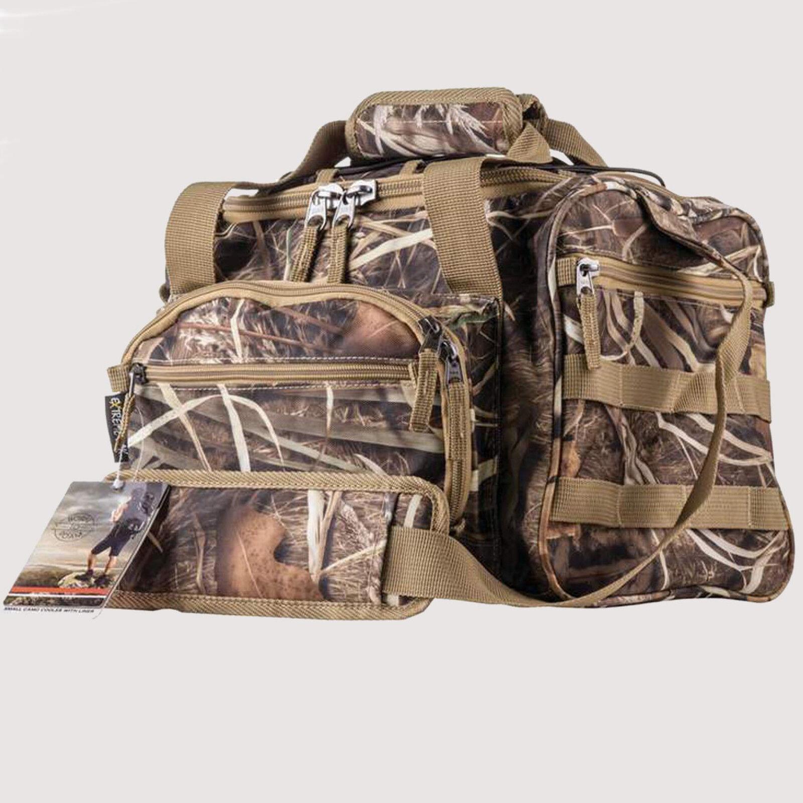 "Small Waterproof 13"" Swamper Camo Cooler Bag Lunch Box Work"
