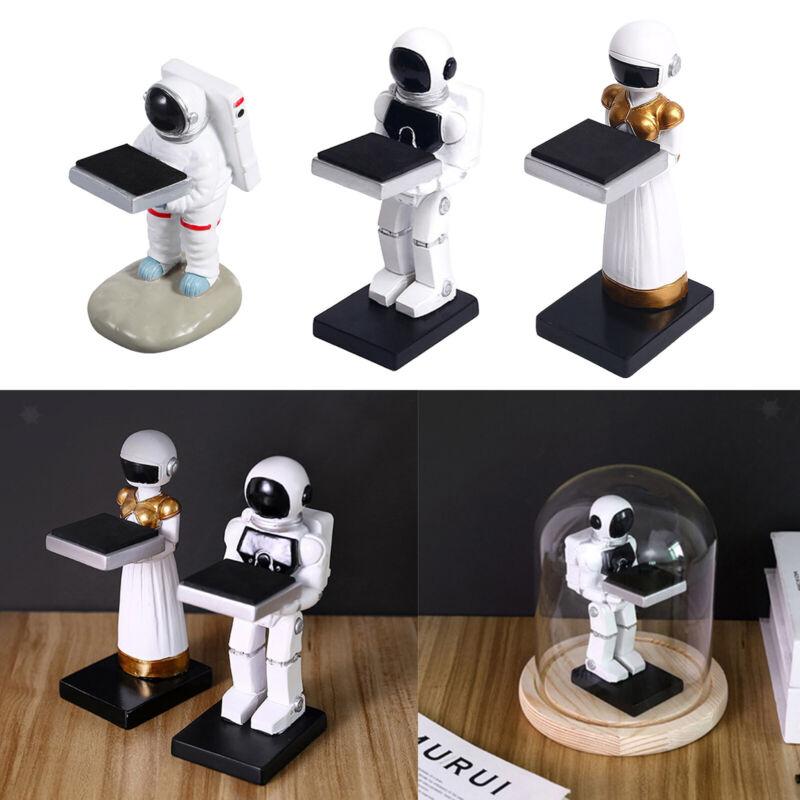 Jewelry Resin Wrist Watch Display Stand Spaceman Table Storage Organization .
