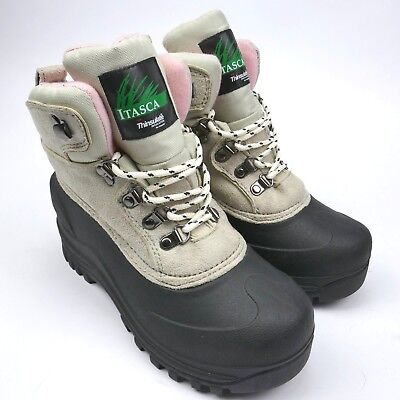(Itasca womens sz 6 boots great condition thinsulate insulation granite peak)