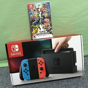 Switch_BRAND-NEW (Unpatched) + Super Smash Bros.