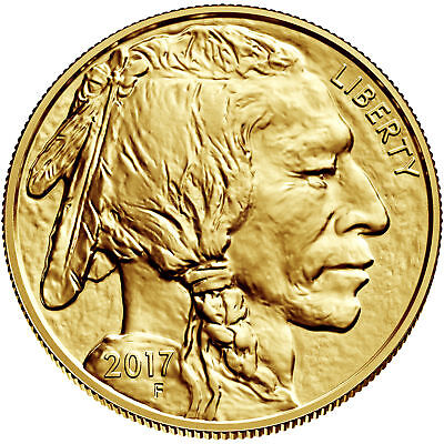 2017 - $50 1oz Gold American Buffalo .9999 BU