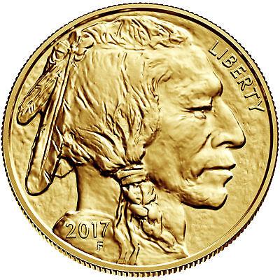 2017    50 1Oz Gold American Buffalo  9999 Bu