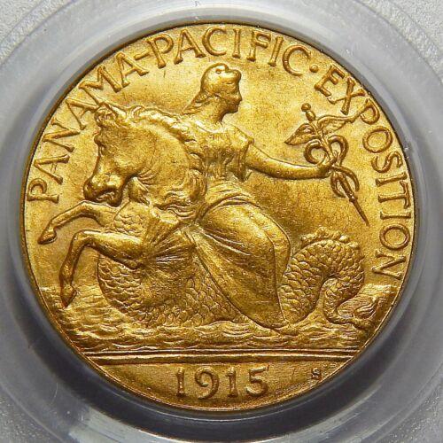 1915-S PCGS MS65 PANAMA PACIFIC $2.50 GOLD COMMEMORATIVE