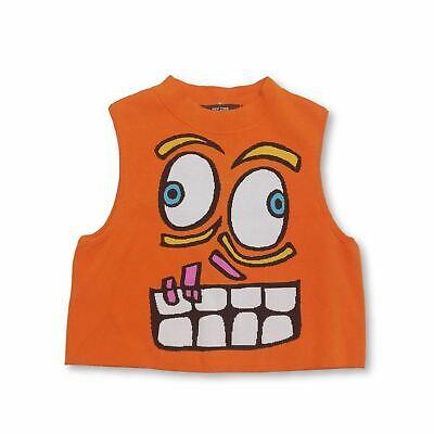 Jeremy Scott Women's Sleeveless Top 8 Colour:  Orange  *