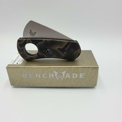 Benchmade (NIB) Gold Class Cigar Cutter Auto Axis Raffir Noble Stonewash 1500-19