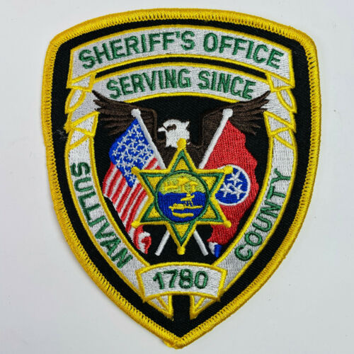 Sullivan County Sheriff Tennessee TN Patch (A4)