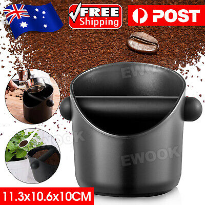 Coffee Knock Bin CREMA PRO Espresso Grinds Tamper Waste Box Container Tamp Tube