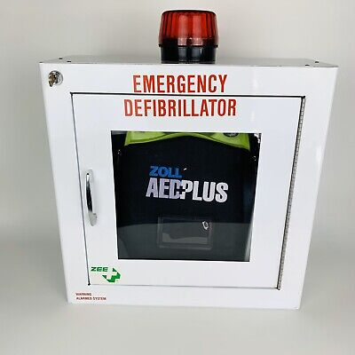 Zoll Aed Plus Defibrillator With Carry Case Wall-mount Cupboard