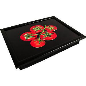 tomato soft bean bag padded cushioned laptop tv breakfast. Black Bedroom Furniture Sets. Home Design Ideas