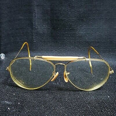 Vintage B&L Ray Ban aviator glasses clear lens PRICED TO (Ray Ban Eyeglasses Price)
