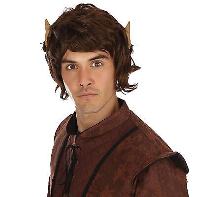 Herren Mythisch Perücke mit Ohren Frodo Kostüm Herr der Ringe Hobbit - Frodo Kostüm