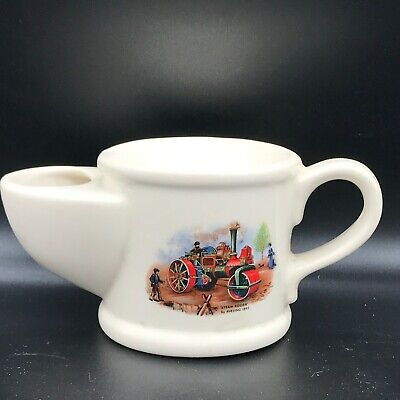 Used, VINTAGE WADE RETRO STEAM ROLLER AVELING SHAVING MUG 1893 SHAVING MUG CUP for sale  Shipping to Ireland