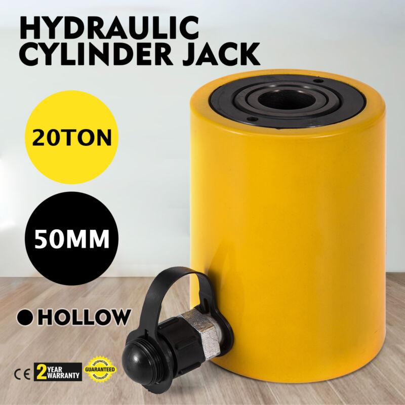 "20 tons 2"" stroke Single acting Hollow Ram Hydraulic Cylinder Jack YG-2050K"