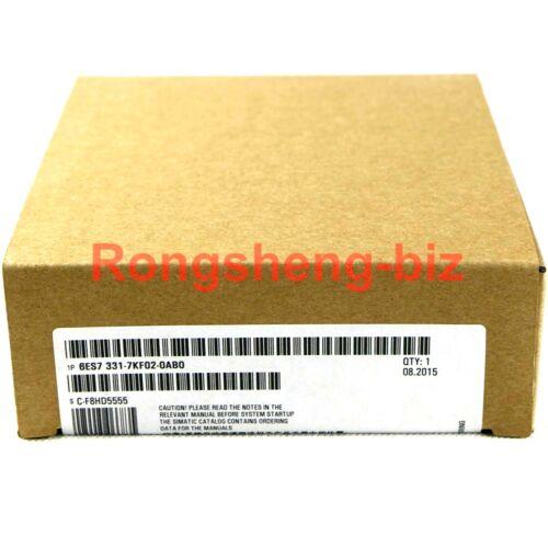 Siemens 6ES7 331-7KF02-0AB0 / 6ES7331-7KF02-0AB0 New in Open Box Free Ship