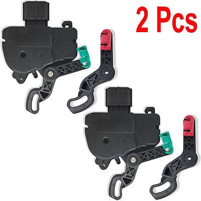 2Pcs Rear Sliding Door Lock Actuator For 2001-2007 Dodge Grand Caravan 3.3L 3.8L