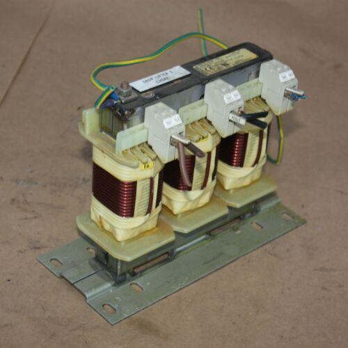 SIEMENS 6SE7021-8ES87-1FE0 OUTPUT REACTOR 3PH 380-460VAC 17.5A Line Filter Choke