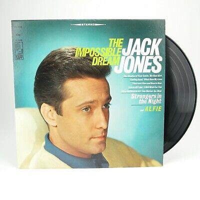Jack Jones – The Impossible Dream 1966 LP KL-1486 Pop -  VG Jack Jones Impossible Dream