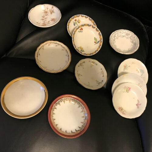 Group of Various Vintage Butter Pats