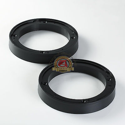 """(2) Ai 5.25"""" to 6"""" Speaker Spacer 1"""" height Depth Extender Mounting Rings 5 1/4"""""""