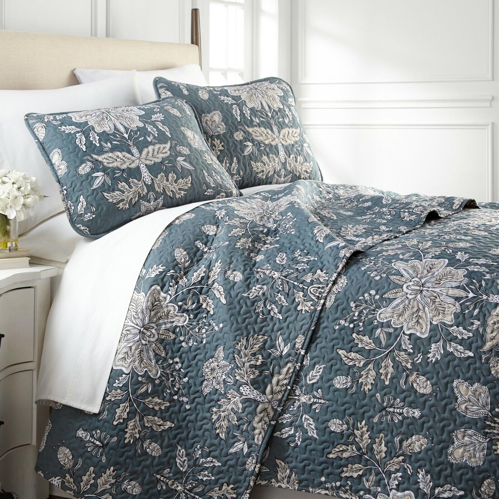 vintage garden reversible lightweight quilt sets