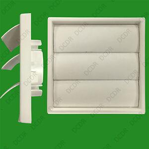 4-X-100mm-4-034-Bianco-Gravity-Parete-Di-Falda-Cucina-Cappa-Aspirante-Ventilazione