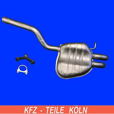 (1Z3 1Z5) Skoda Octavia 1.9  2.0 Diesel Endschalldämpfer Auspuffanlage bis2008 Schalldämpfer 1 1 2