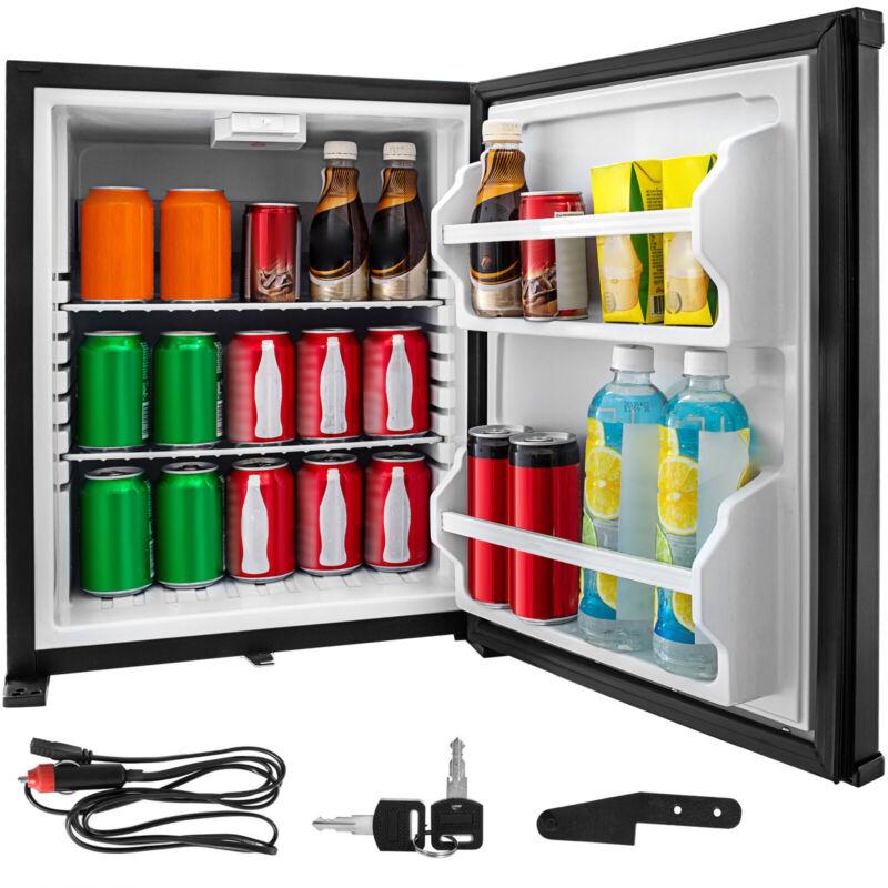 1.4 Cu Ft DC 12V Mini RV Cooler Semi-Truck Fridge Absorption Refrigerator