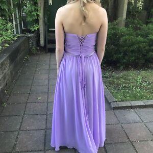 Robe de bal lilas