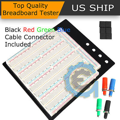Solderless Breadboard Protoboard Tp Tie-point 3220 Hole Pcb Prototype Board Us