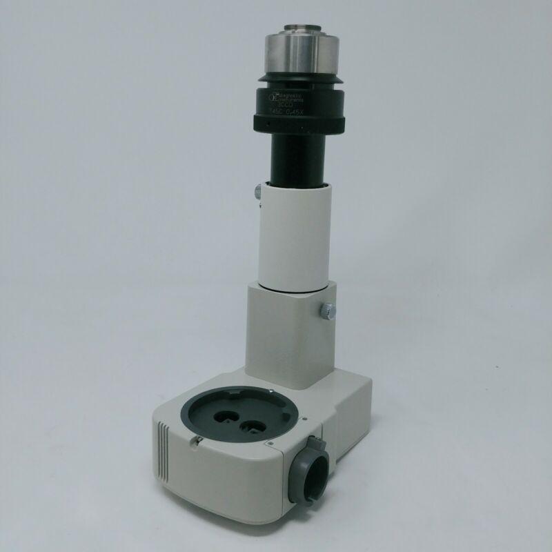 Nikon Microscope SMZ Stereo Photo Port with Camera Adapter