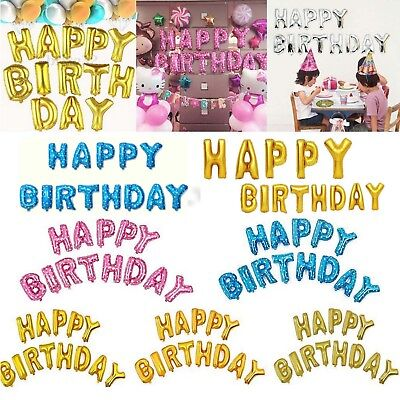Happy Birthday Ballon-banner (HAPPY BIRTHDAY SET16