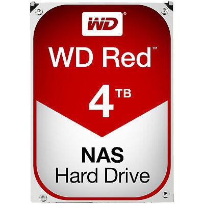WD Red™ BULK, 4 TB HDD, 3.5 Zoll, intern, Rot