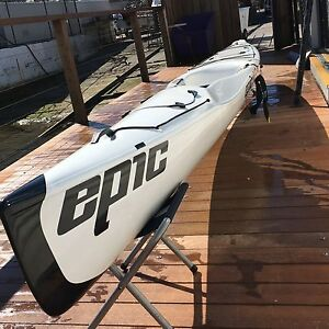Epic V6 performance 2016 Kayak, Epic paddle, jacket all as new Mosman Mosman Area Preview