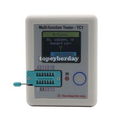 Multi-function Tester Tc1 Lcr 3.5tft Colour Backlight Transistor Test Hooks