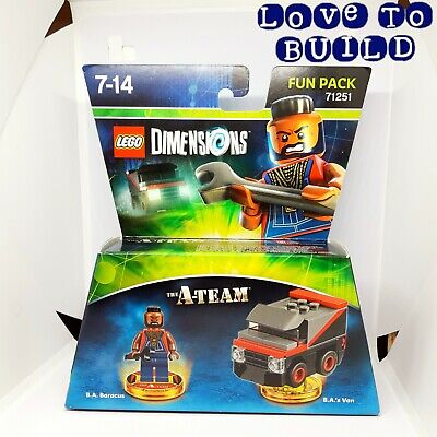 ⭐ LEGO Dimensions Wave 6 The A-Team - Fun Pack 71251 B.A. Baracus New Sealed