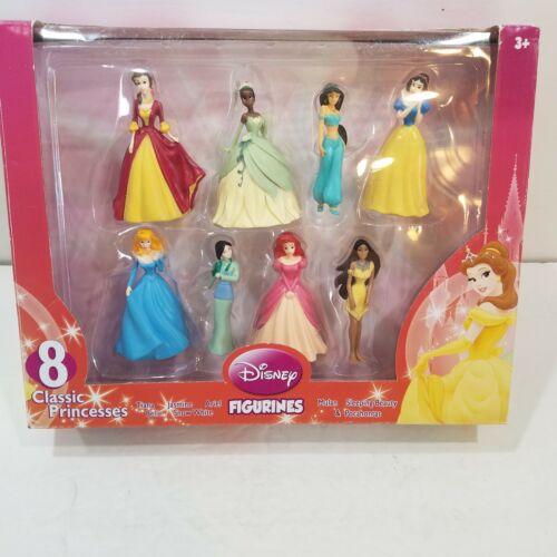 8 Beverly Hills Teddy Bear Company Disney Princesses Princess Figurines NIB NOS