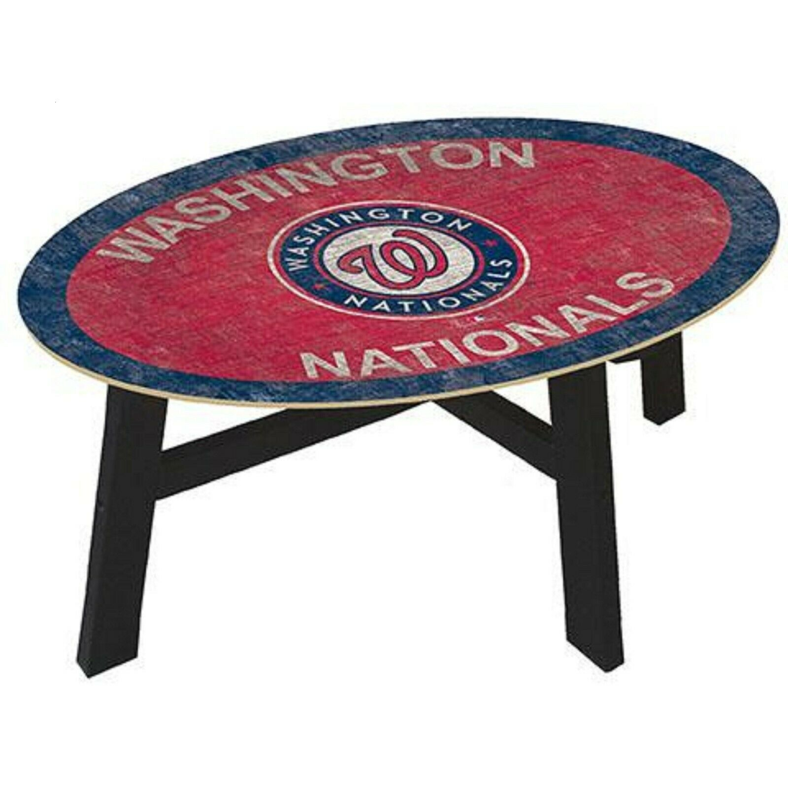 mlb coffee table 46 with glass top
