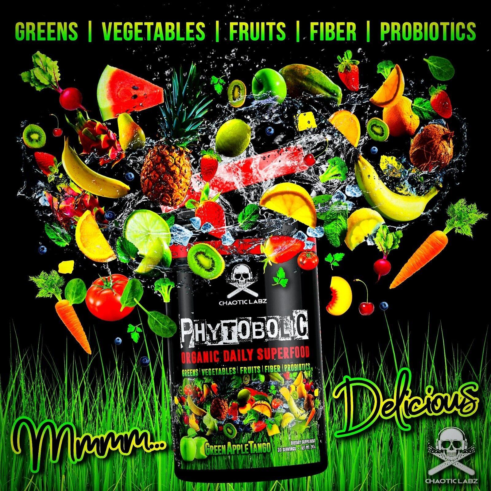 PHYTOBOLIC GREENS VEGGIES FRUITS FIBER PRE & PROBIOTICS  SUP