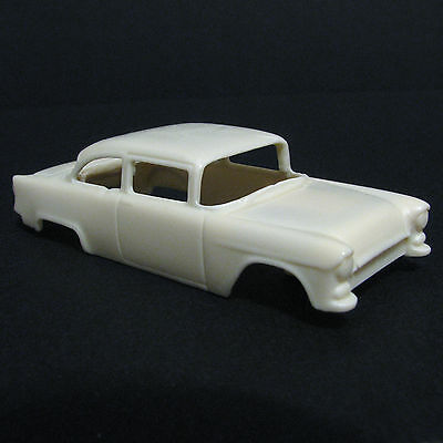 JF HO '55 Chevy 150 Street Resin Slot Car Body - Fits 4 Gear  #35