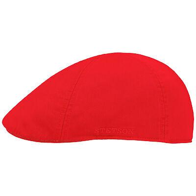 STETSON Texas Cotton Flatcap mit UV-Schutz Schirmmütze Baumwollcap Schiebermütze Cotton Flat Cap